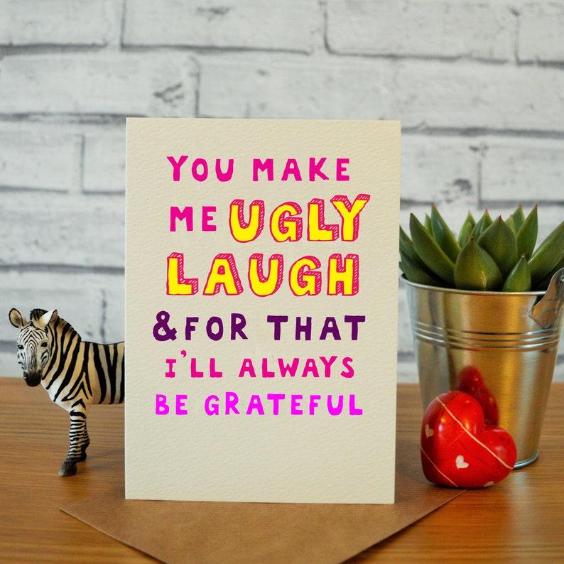 Best Friend Birthday Card Funny Bff Gift Hilarious Idea