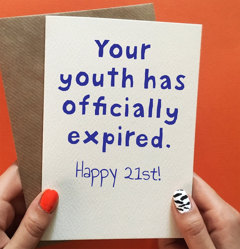 Funny 21st Birthday Cards For Him Gifts