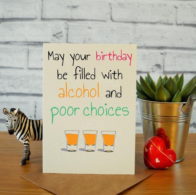 Funny Birthday Cards Best Friend Card