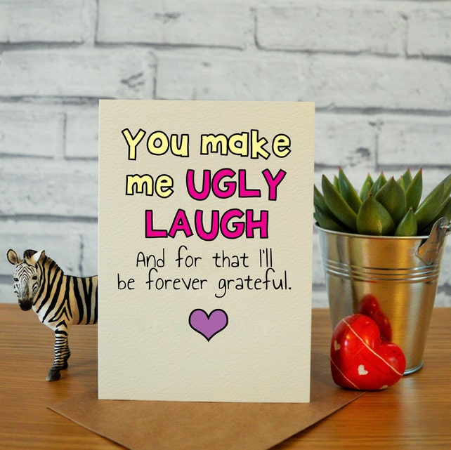 Best Friend Birthday Card Funny Bff Gift Hilarious Idea
