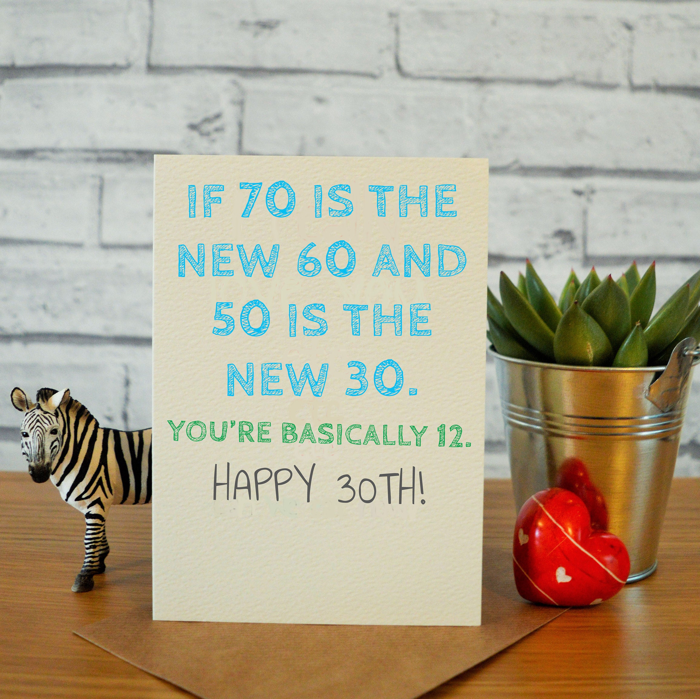 30th Birthday Card For Him Husband Funny