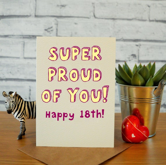 18th Birthday Card Daughter Gift