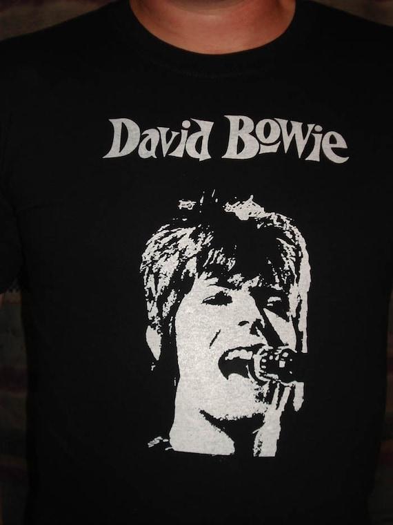 L XL M Official David Bowie t-shirt S