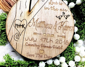 MagnetMagnet save the date, wooden save the date , Rustic save the date. Calender save the date, unique save the date. save the date, wooden