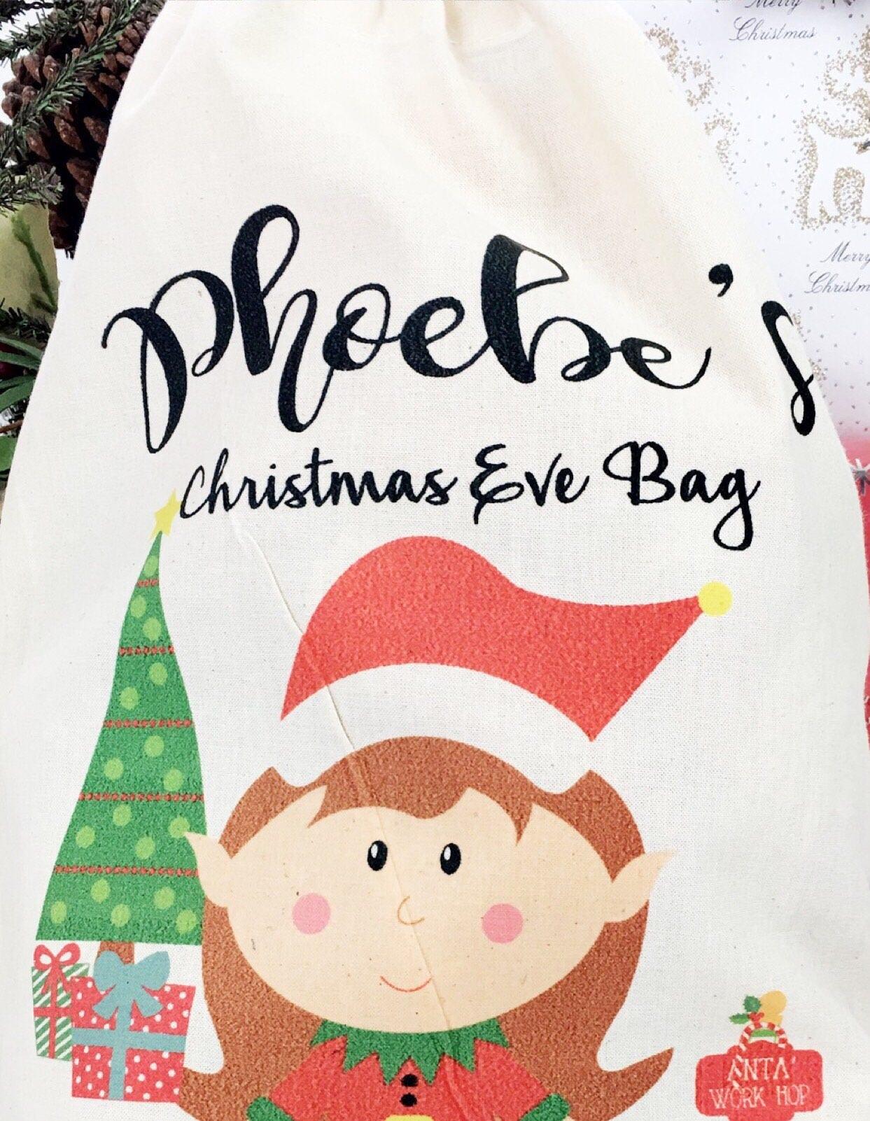 Christmas Eve bag ,Personalised Christmas Eve box, Christmas Eve box ...