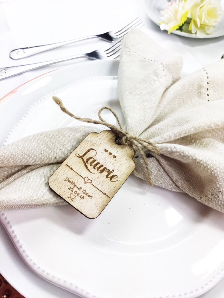 Place setting Place cards Wedding place setting