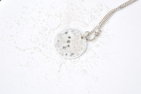 Ursa Major Constellation Necklace From Silver With Tiny Stars Astronomy Zodiac Celestial Jewelry by Etsy