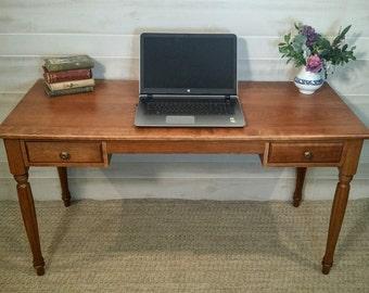 Desk, Cherry Desk, Solid Cherry Desk, Writing Desk, Computer Desk, Home Desk, Office Desk, Wood Desk, Wooden Desk, Custom Desk, Classic Desk