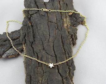 Bracelet Necklace Star Gold