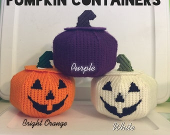 Pumpkin containers
