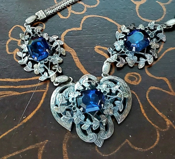 Antique Edwardian Necklace - Unique gift for her -