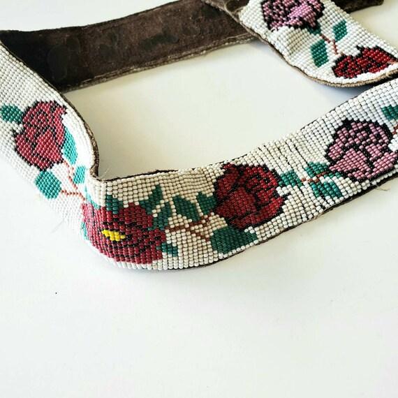 Antique Native American - Antique beadwork - Nativ