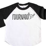 Fournado Fourth Birthday Shirt - 4th Birthday Shirt - Four Year Old Shirt - Boys 4 Birthday Shirt - Girls Fourth Birthday Shirt