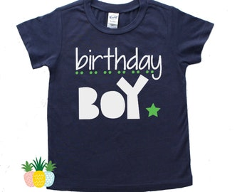 Boy Birthday Shirt