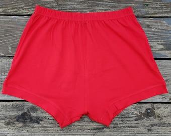 Red Unisex  Iyengar Yoga shorts