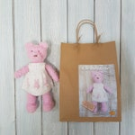 REDUCED - Clementine Bear Knitting Kit - Make Your Very Own Teddy Bear - Easy To Knit Pattern