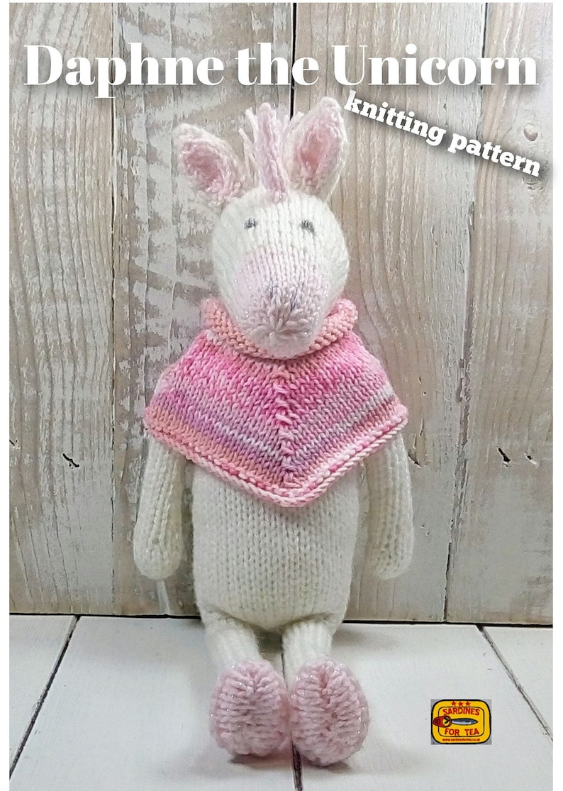 KP-24 Knits /& Pieces KNITTING PATTERN Not finished Toys The Rapunzel Story