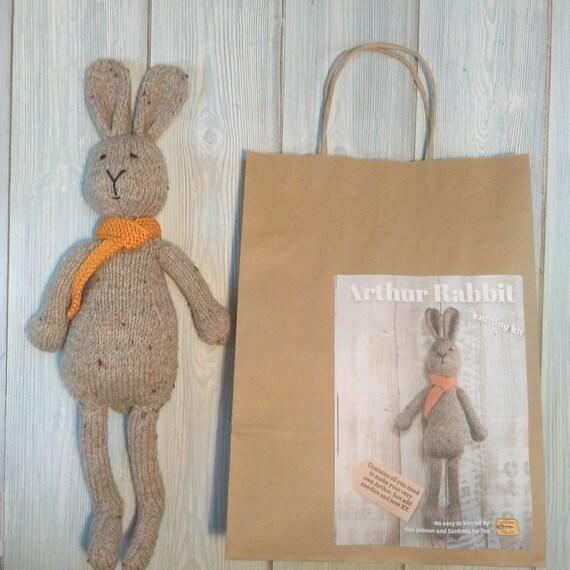 Arthur Rabbit Knitting Kit Make Your Very Own Bunny Rabbit Etsy