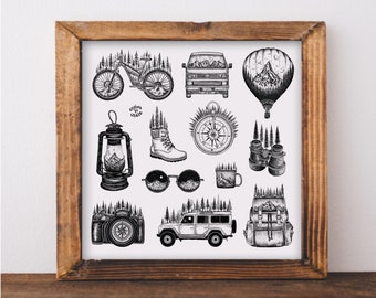 Explore to Create Collection Art Print