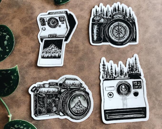 Art by Kaari Camera Sticker Pack