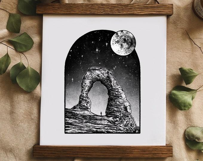 Window to Moab Art Print