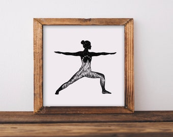 Yoga Pose I Fine Art Print