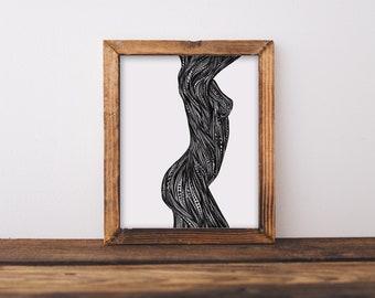 Body I Fine Art Print