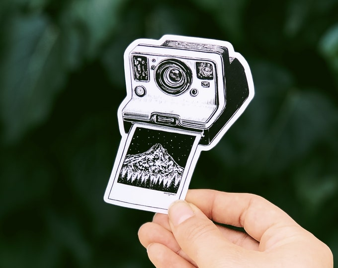 Polaroid II Vinyl Sticker