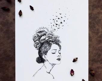 Woman + Waves