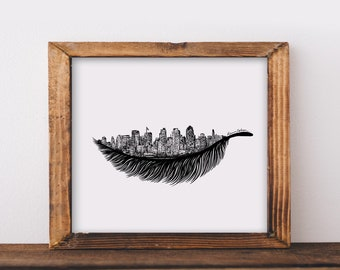 Feathered Skylines