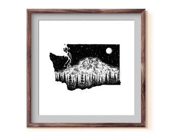 Washington + Mt. Rainier