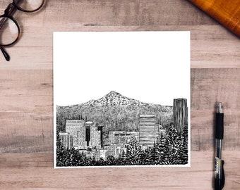 Portland Skyline / Oregon