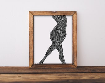 Body II Fine Art Print