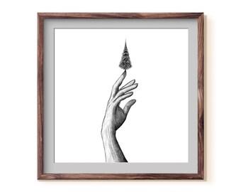 Tree + Hand