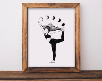 Yoga + Moon Phases