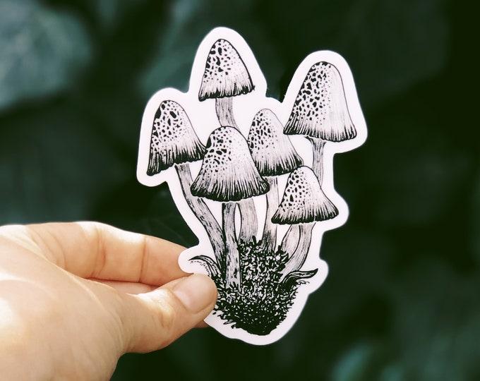 Mushroom II Vinyl Sticker