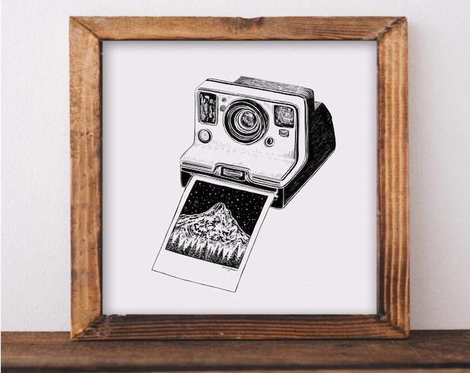 Polaroid II Fine Art Print