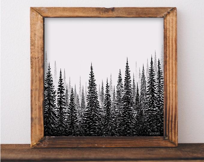 Treescape I Art Print
