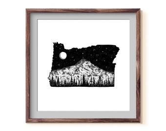 Oregon + Mt. Hood