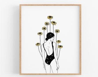 Flourishing Growth Art Print