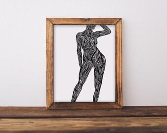 Body III Fine Art Print