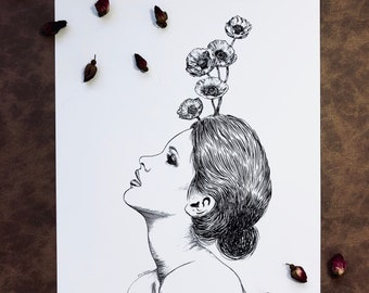 Floral Woman II