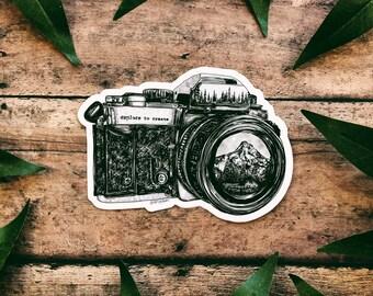 Camera II Sticker