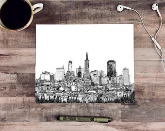 San Francisco Skyline / California