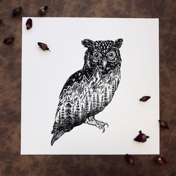 Mountainous Owl