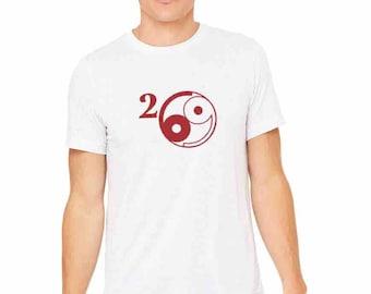 269 Vegan AF - Unisex yoga activewear tee  Style 413- Scoop  Neck