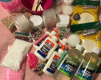 Diy slime kit etsy biggest diy slime kit make just about any kind of slime 48 oz of glue solutioingenieria Images