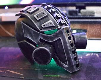 GRENDEL Cyberpunk Cosplay Helmet Mask w/ LED's