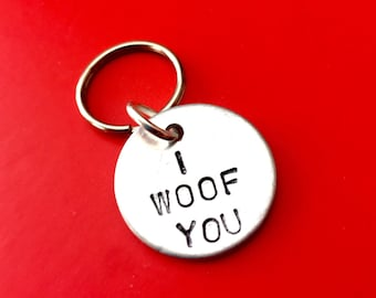 Dog tags for dogs Custom dog tags, Dog collar Personalised Engraved dog tags for dogs, Dog lover gift, Dog owner, Puppies tags, hand stamped