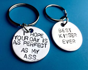 Gift ideas for boyfriend on anniversary Best friends gifts for men Matching for him and her Inspirational gift personalise I hope your day,
